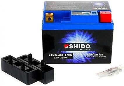 Shido Lithium Motorradbatterie Lifepo4 Ltx5l Bs 12v Auto