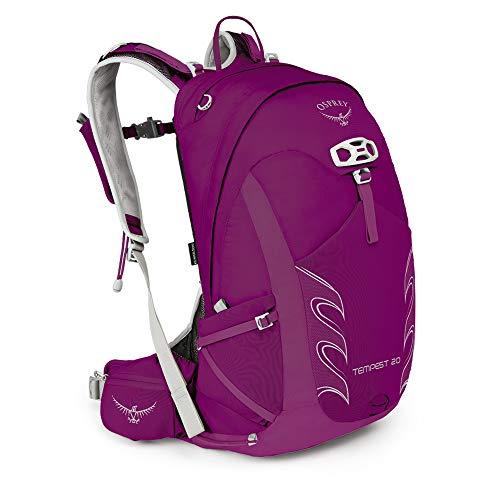 Osprey Packs Tempest 20 Women's Hiking Backpack, Mystic Magenta, Ws/M, Small/Medium