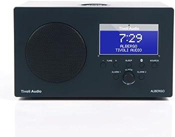 Tivoli Audio Albergo Clock Radio W/ Bluetooth