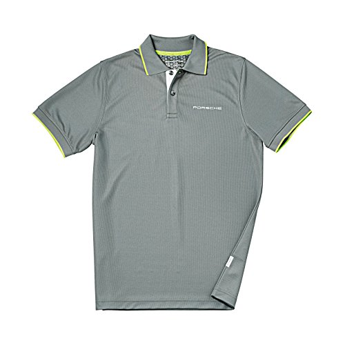 Genuine Porsche Wicking Golf Polo Shirt - Size - Shirt Golf Porsche
