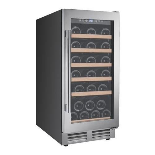 Avanti WCF281E3SS 28 Bottle Designer Series Wine Chiller with Seamless - Avanti Single F-series Avanti