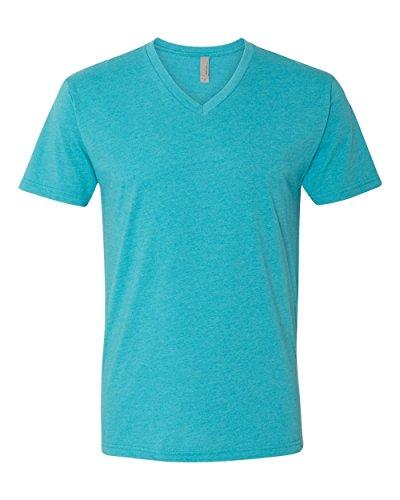 next-level-apparel-6240-mens-cvc-v-neck-tee-bondi-blue-large