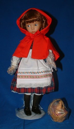 Ashton Drake Porcelain Doll -Little Red Riding Hood by Ashton Drake