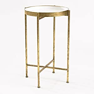 Delicieux InnerSpace Luxury Products Gild Pop Up Tray Table, Small, White