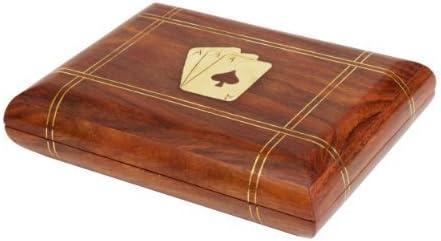 storeindya Tarjetero para Jugar a Las Cartas para 2 Barajas de Cartas - Tarjetas para Jugar a Las Cartas (Tarjeta Impresa Dentro de un Cuadrado): Amazon.es: Hogar