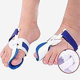 MAOFALZZNA Bunion Device Hallux Valgus Orthopedic Braces Toe Correction Night Foot Care Corrector Thumb Goodnight Daily Big Bone Orthotics(1 Pair)