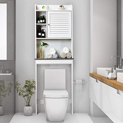 picture of Giantex Over-The-Toilet Space Saver Collette Bathroom Spacesaver W
