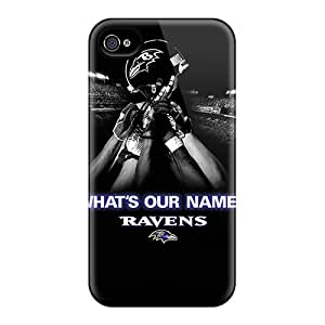 New Snap-on TinaMacKenzie Skin Cases Covers Compatible With Iphone 6- Baltimore Ravens