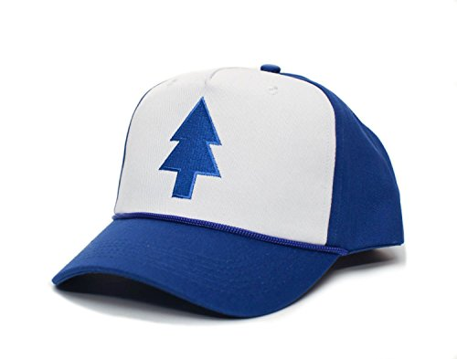 Dipper Blue Pine Hat Embroidered Cloth & Braid Adult One Sz Royal/White Baseball Cap ()