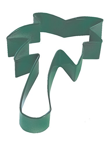 Green Bulk Lot of 12 RM-1286//G-12LOT CybrTrayd R/&M Palm Tree Durable Cookie Cutter 3.5-Inch