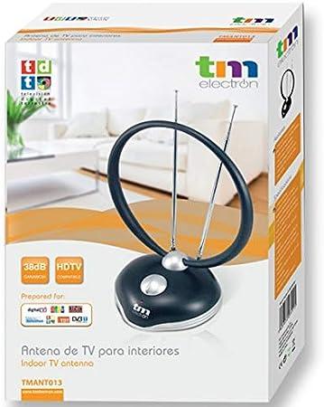 TM Electron TMANT013 Antena de Interior para televisión ...
