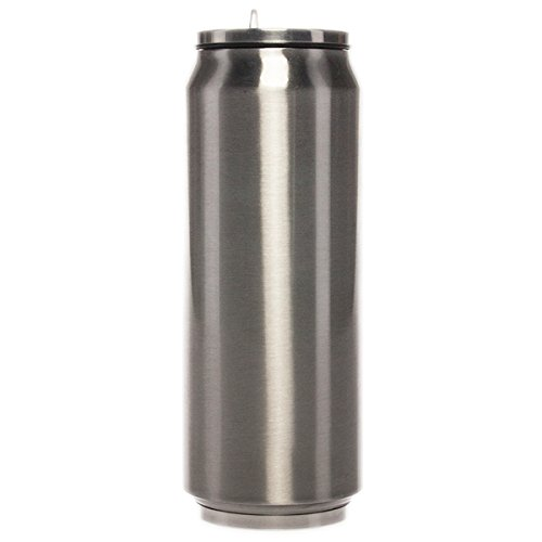 Primula 17oz Insulated Water Bottle With Straw Stainless Steel Vacuum Travel Tumbler Stay Cold Sip Flip Top Cup