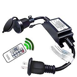 Outdoor Dimmer, Wireless RF Smart Plug-i...