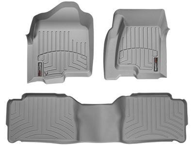 WeatherTech (464751-463002) FloorLiner, Front/Rear, (Gray Front Floor Liner)