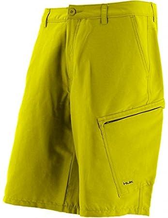 Marolina Outdoor H2000004byw30 Huk Hybrid Lite Shorts Blaze Gelb