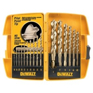 DEWALT - 16 PC PILOT POINT DRILLBIT SET - 115-DW1956