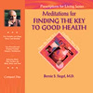 Meditations for Finding the Key to Good Health Speech
