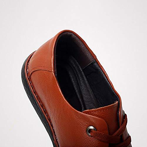 Da Scarpe Scarpe Retr Stringate Mano Uomo Viaggio Oxford A Scarpe Da Stile Da Eleganti Uomo Casual Stringate Vintage InY7qf