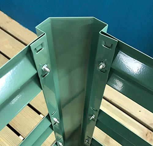 Selections - Compostador de jardín (110 x 70 cm), Color Verde ...