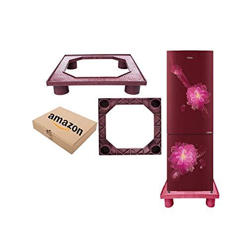 SAI PRASEEDA Heavy Duty Nylon Fridge Stand/Washing Machine Stand/Dishwasher MAROON Color With Box Packing