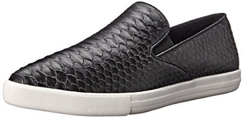 Qupid Women's Mitch-01 Fashion Sneaker, Black, 7 M US