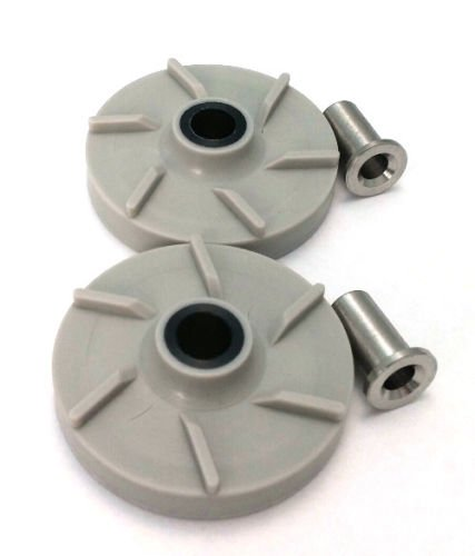 Combo Pack - 2 Impellers & 2 Bearing Sleeves Replaces Crathco 3587 & 3220