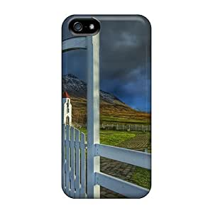 High Impact Dirt/shock Proof Case Cover For Iphone 5/5s (church's Gate Hdr)