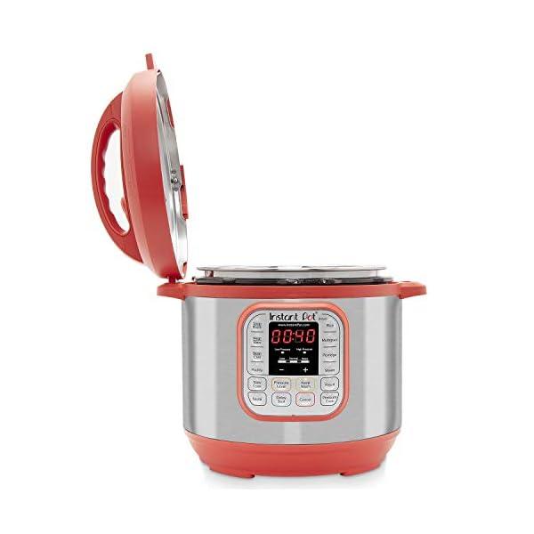 Instant Pot IP-DUO60RED Pressure Cooker, 6 quart, Red (Renewed) 3