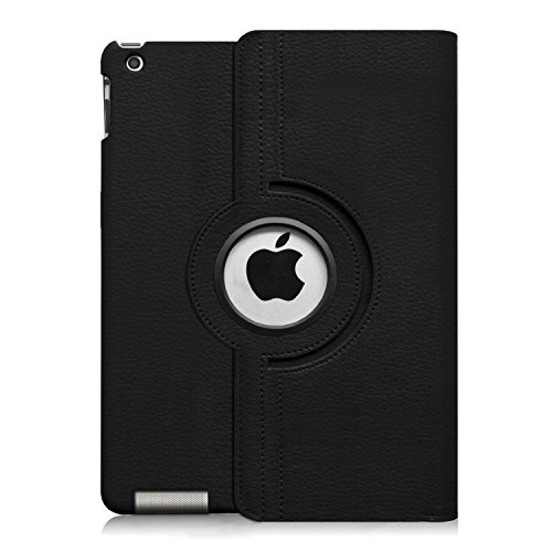 Fintie iPad 2/3/4 Keyboard Case Degree Rotating Stand Built-in Wireless Keyboard for Apple iPad 2, iPad with