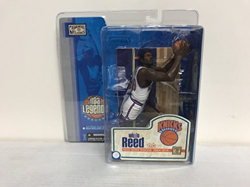 Willis Reed New York Knicks Hardwood Classics NBA Legends Basketball Toy Action Figure