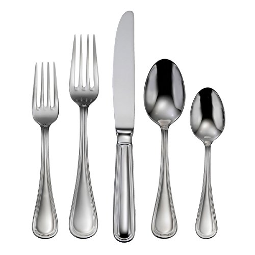 Oneida Omnia 62-Piece Flatware Set, Service for 12