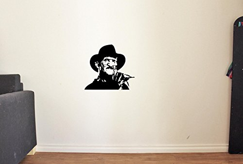 Freddy Krueger Serial Killer Dead Horror Vinyl Wall Decals Halloween Nightmare Decor Stickers Vinyl Mural MK3425]()