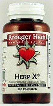 Herp-X 100C 100 Capsules by Kroeger Herb