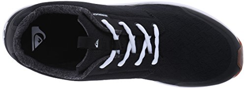 Quiksilver–Camiseta Voyage Zapatilla de Running Black / Black / White