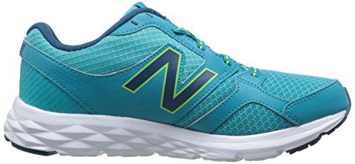 New Balance Womens W490v3 Scarpa Da Running Aqua / Blu
