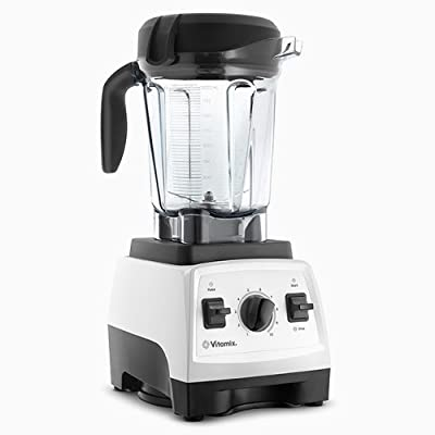 Vitamix 7500 Blender with Low Profile Jar (White)