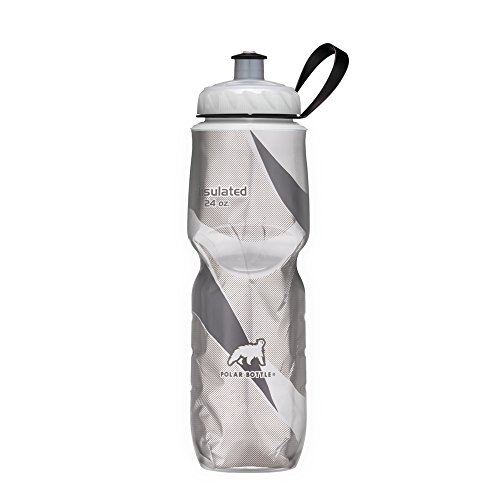 Polar Bottle Insulated Water Bottle (20-Ounce) (Black Pattern) ()