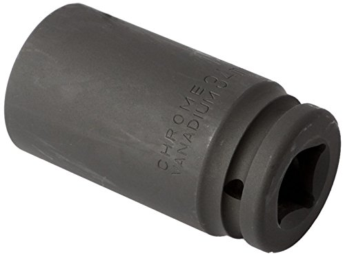 ATE Pro. USA 50237 Impact Socket, Deep Wall, 3/4'' x 34 mm