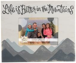 Glory Haus Life is Better in Mountains Frame Multicolor