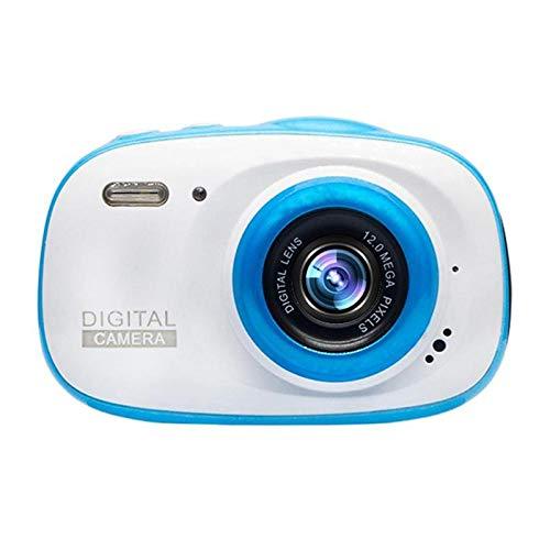 GXOK 2.0 HD Kids Camera 720P IP68 Waterproof 6X Portable Digital Zoom Cam Camera (Blue) (Tripods Tv Show)