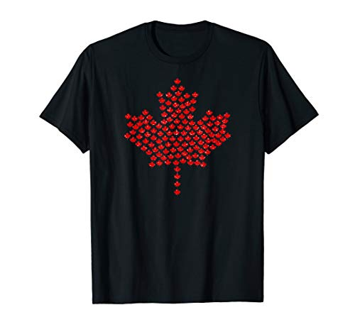 (Canada Nation Country Flag Maple Leaf Symbol T Shirt )
