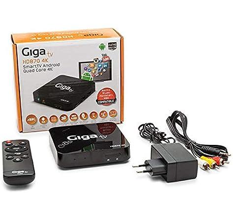 GIGA TV HD870 4K - Ordenador de Sobremesa: Amazon.es: Informática