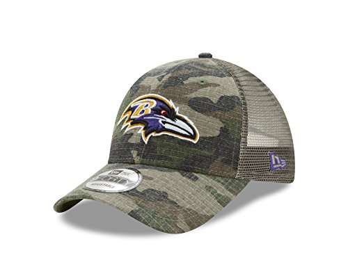 Baltimore Ravens Camouflage Caps. Baltimore Ravens Camo Trucker Duel New  Era 9FORTY Adjustable Snapback Hat ... 032cf93f2