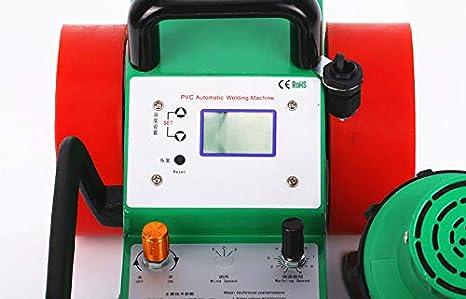 Amazon.com: YJINGRUI Automatic PVC Banner Welding Machine 2000W LC ...