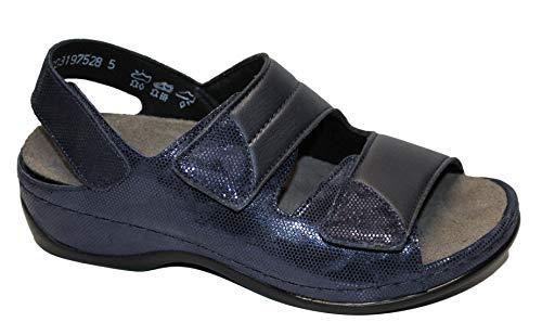Sandalo Sofie 3 Velcro Berkemann Blu Donna p5wfSg
