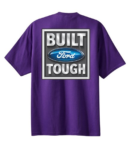 Tough Logo Tee (Ford Tough Logo T-shirt Ford Tough Tee-purple-4xl)