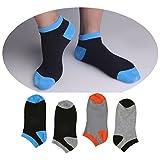 DMSocks No Show (Pack Of 4) Liner Ankle Socks Ultimate Cotton Socks For Men
