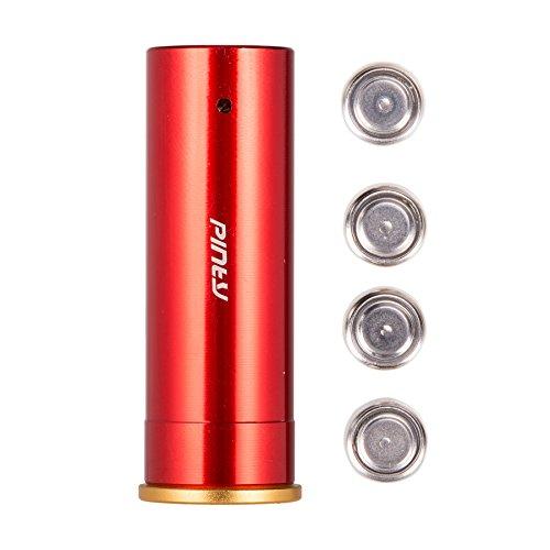 Lazer Gauge (Pinty 12 Gauge/GA Red Dot Laser Bore Sight Cartridge Hunting Optics Scope Boresight Kit)