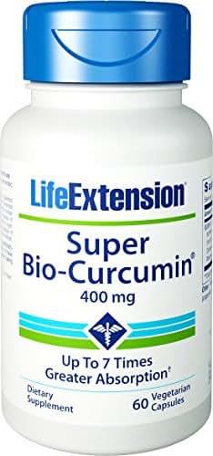 Life Extension Super Bio-Curcumin, 400mg, 60 Vegetarian Capsules