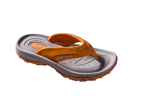 - ZORIZ Golf Sandal,Orange,10